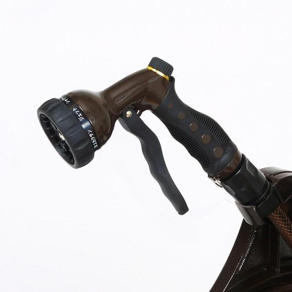 4月中旬入荷予定 ホースリール ホース20m付き アルミ鋳物ホースリール ジーフローラ20 AR-20(BR)