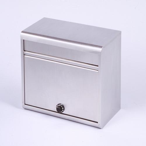 郵便ポスト ステンレスポスト(18-8ステンレス) ダイヤル錠付 PH-60D メールボックス ダイヤル錠式