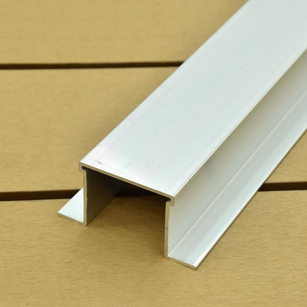 ※アルミ製 大引・根太  45×60(90)×2000mm(3.0kg) ※樹脂デッキ材