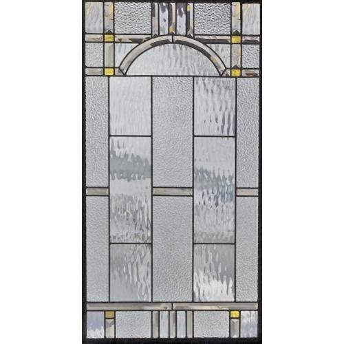 ステンドグラス (SH-A30) 913×480×18mm デザイン ピュアグラス 幾何学 Aサイズ (約13kg) メーカー在庫限り ※代引不可