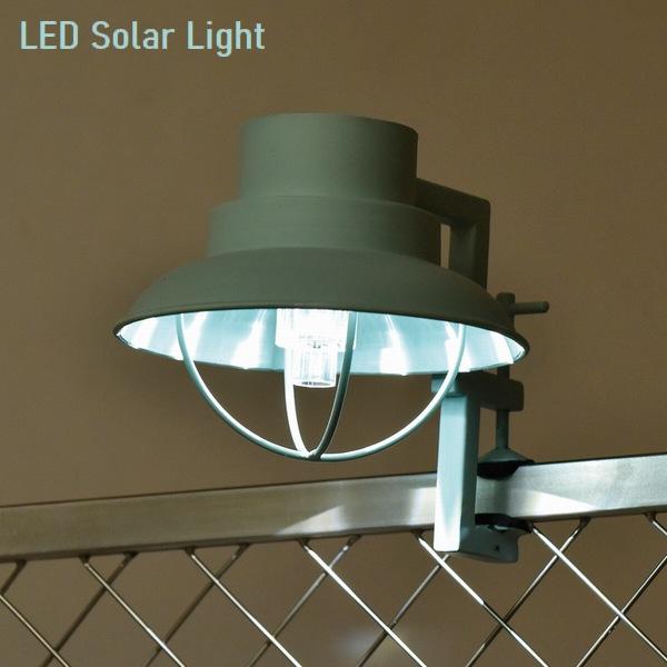 ソーラーライト LED クリップソーラー (マリン) ブルー (SI-2868-BL-500) ※北海道・九州+500円