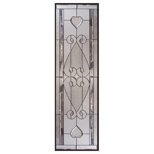 ステンドグラス (SH-B23) 1625×480×20mm デザイン アンティーク クリア ピュアグラス Bサイズ (約24kg) ※代引不可