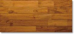 チーク フローリング 【床暖対応】 ユニ UV塗装 15×75×1820mm 【1ケース 1.638平米/12枚】
