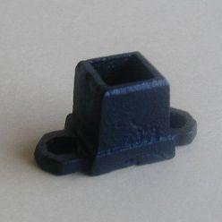 ロートアイアン子柱用座金(JHIZ-01)取付簡単!ウッドデッキフェンスに!
