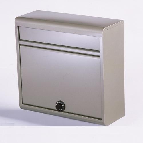 郵便ポスト 家庭用郵便ポスト(ダイヤル錠付・チタングレー) FH-614D(TGY) メールボックス ダイヤル錠式