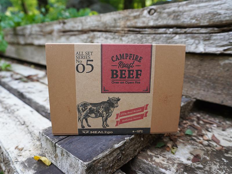 キャンプファイヤーローストビーフ/赤ワインソース