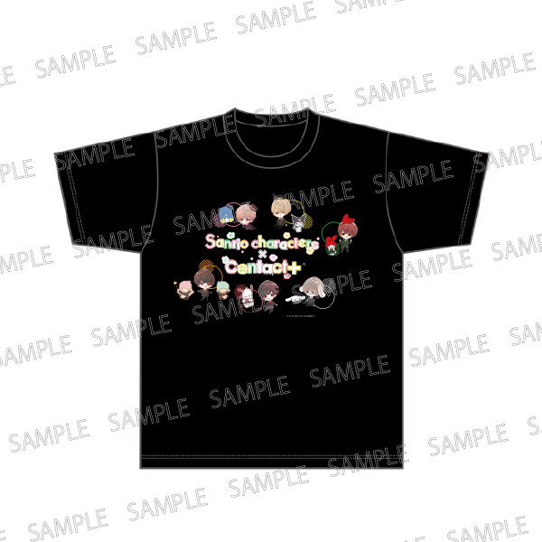 Sanrio characters × Contact+ Tシャツ