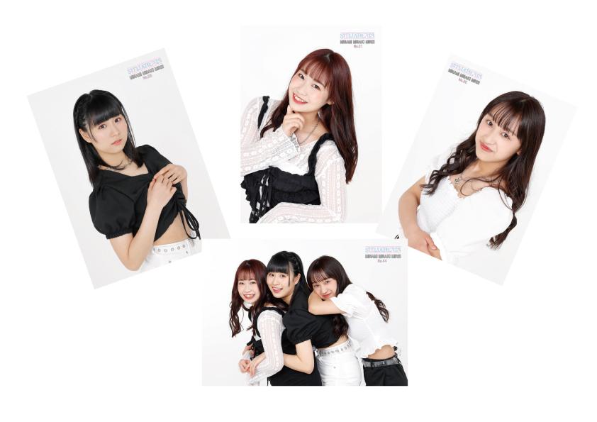 STELLABEATS / 【MINAMI MISAKI MIREI】ブロマイドセット
