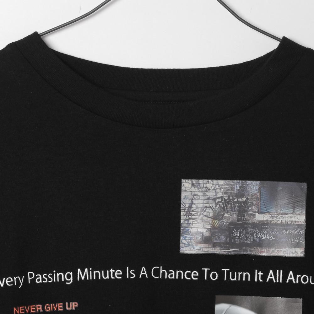 マルチプリントTシャツ (MF21-02A) mens メンズ