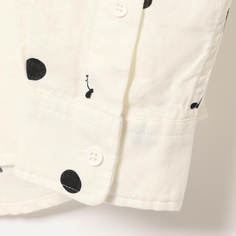 総柄リネンシャツ (MF19-32) mens メンズ