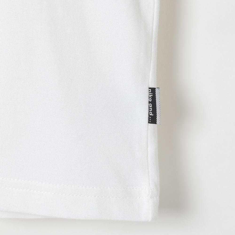 MIFARA×niko and ... コラボレーションTシャツ 言葉Tシャツ (MF19-001) mens メンズ