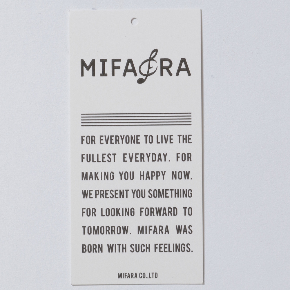MIFARA×niko and ... コラボレーションTシャツ 言葉Tシャツ (MF19-001K) kids キッズ 子供用