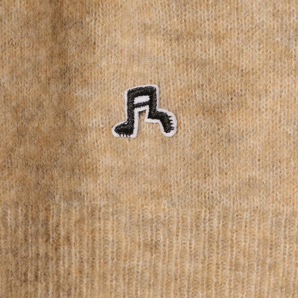 袖ラインプルオーバーニット (MF19-70) mens メンズ