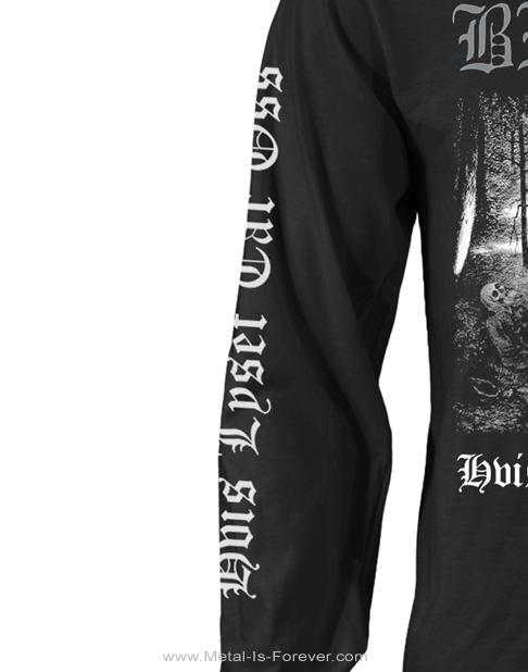 BURZUM -バーズム- HVIS LYSET TAR OSS 「白昼夢」 長袖Tシャツ