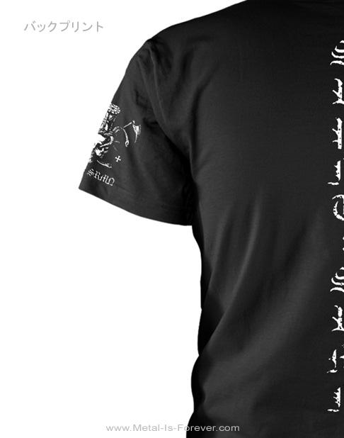 MARDUK (マルドゥク/マーダック) SERPENT SERMON 「サーペント・サーモン」 Tシャツ