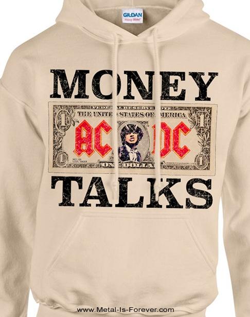 AC/DC (エーシー・ディーシー) MONEY TALKS 「マネートークス」 パーカー(ナチュラル・カラー)