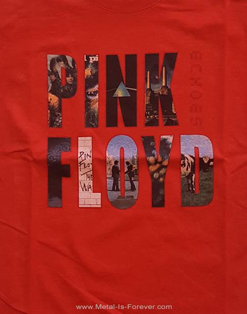 PINK FLOYD (ピンク・フロイド) ECHOES 「エコーズ〜啓示」 キッズTシャツ(赤)