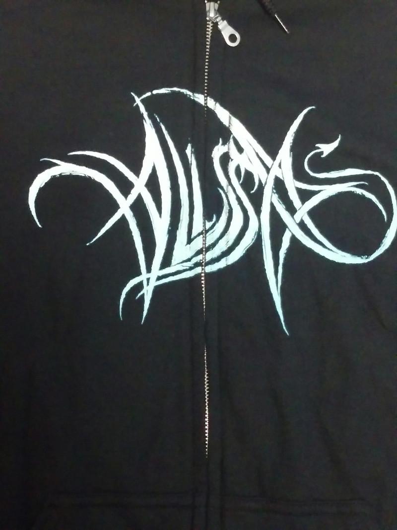 【在庫有り商品】ALISSA WHITE-GLUZ -アリッサ・ホワイト=グラズ- PHOTO LOGO 「フォト・ロゴ」 ジップ・パーカー Lサイズ