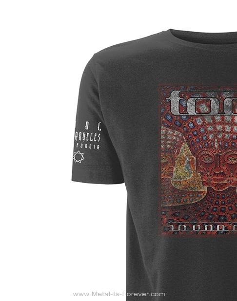 TOOL -トゥール- 10,000 DAYS 「10,000デイズ」 Tシャツ(チャコールグレー)