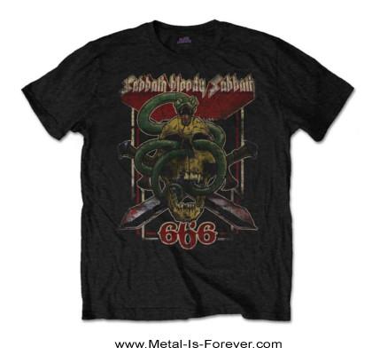 BLACK SABBATH -ブラック・サバス- SABBATH BLOODY SABBATH 666 「血まみれの安息日666」 Tシャツ
