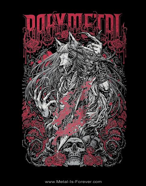BABYMETAL -ベビーメタル- ROSE WOLF 「ローズ・ウルフ」  Tシャツ