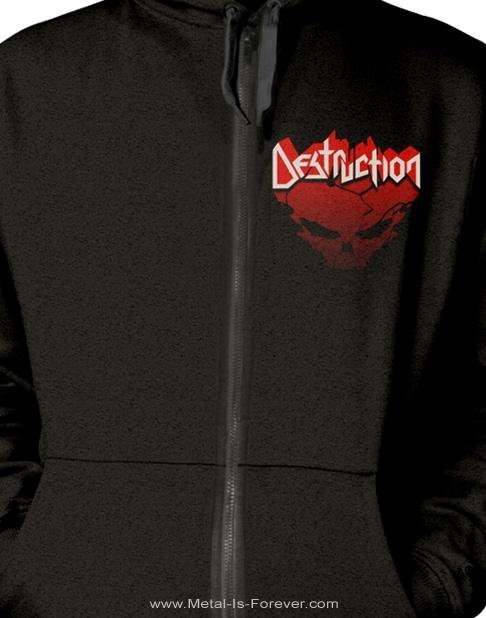 DESTRUCTION -デストラクション- ETERNAL DEVASTATION 「エターナル・デヴァステーション」  ジップ・パーカー