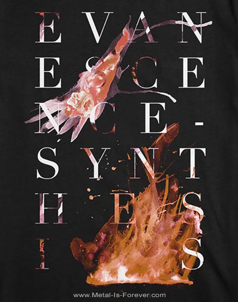 EVANESCENCE (エヴァネッセンス) SYNTHESIS 「シンセシス」 ロゴ Tシャツ