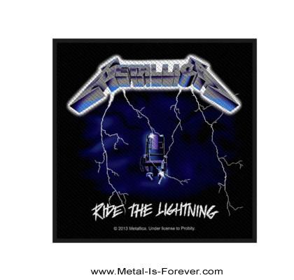 METALLICA (メタリカ) RIDE THE LIGHTNING 「ライド・ザ・ライトニング」 ワッペン