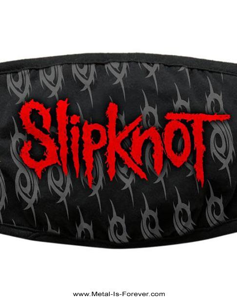 SLIPKNOT (スリップノット) RED LOGO & SIGILS 「レッド・ロゴ & シジル」 マスク