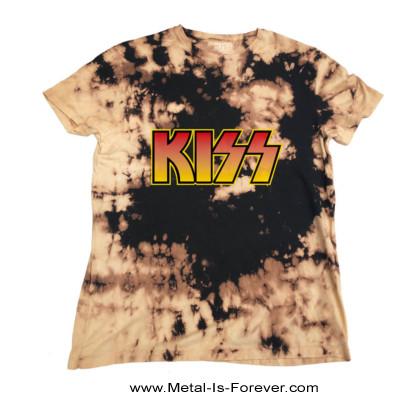 KISS (キッス) LOGO 「ロゴ」 絞り染めTシャツ