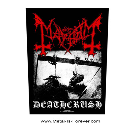 MAYHEM (メイヘム) DEATHCRUSH 「デスクラッシュ」 バックパッチ