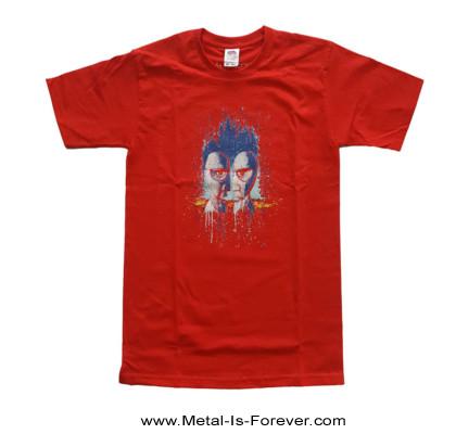 PINK FLOYD (ピンク・フロイド) DIVISION BELL 「対」 キッズTシャツ(赤)