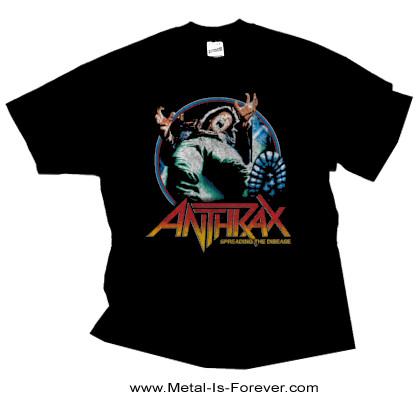 ANTHRAX (アンスラックス) SPREADING THE DISEASE 「狂気のスラッシュ感染」 Tシャツ