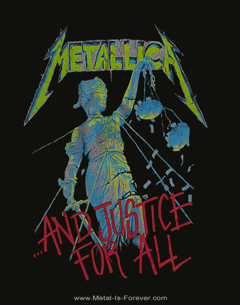 METALLICA -メタリカ- ...AND JUSTICE FOR ALL 「メタル・ジャスティス」 レディースタンクトップ