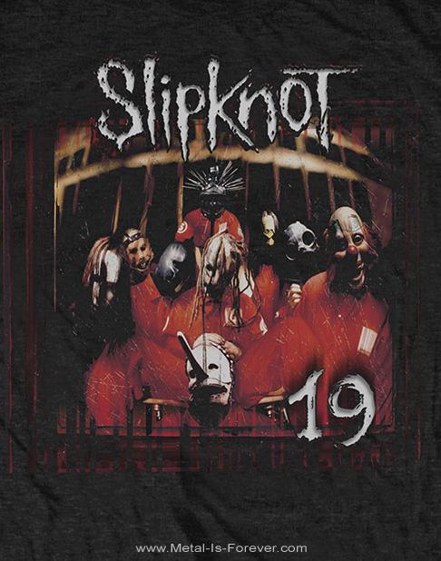 SLIPKNOT -スリップノット- SLIPKNOT 19 YEARS 「スリップノット・19周年」 Tシャツ