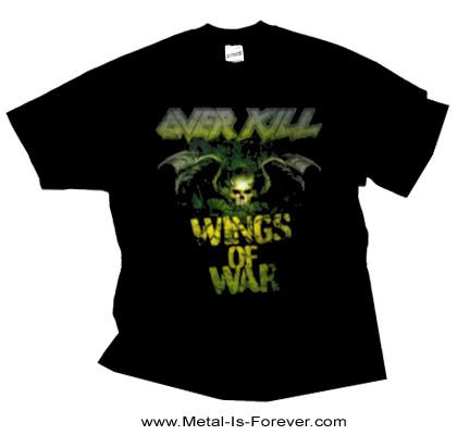 OVERKILL (オーヴァーキル) BAT SHIT CRAZY 「バット・シット・クレイジー」 Tシャツ