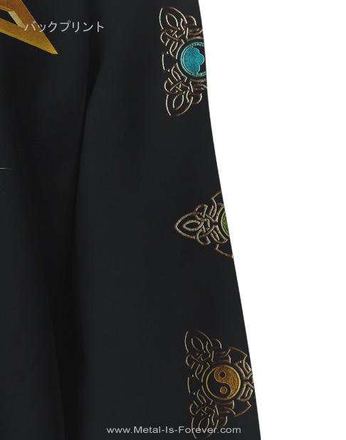 GAMMA RAY (ガンマ・レイ) 30 YEARS GOLDEN LOGO 「30周年記念・ゴールデン・ロゴ」 ジップ・パーカー