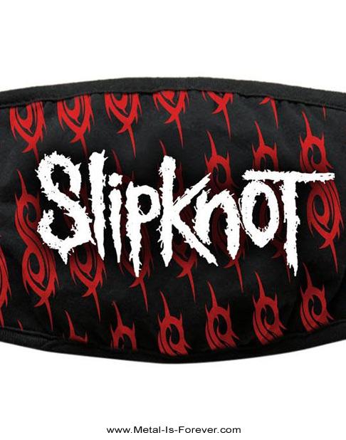 SLIPKNOT (スリップノット) WHITE LOGO & SIGILS 「ホワイト・ロゴ & シジル」 マスク