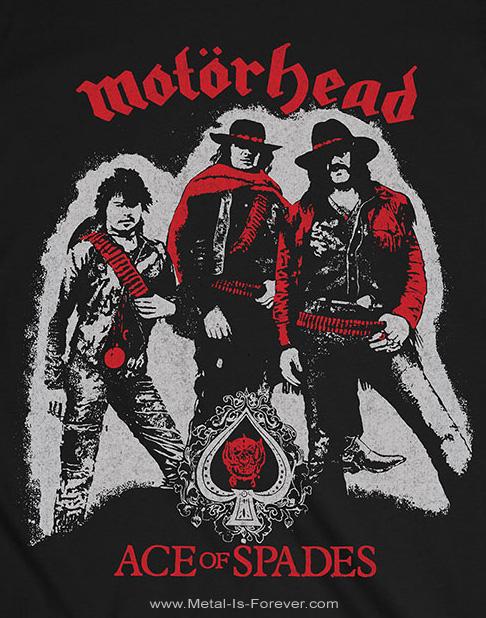 MOTORHEAD (モーターヘッド) ACE OF SPADES 「エース・オブ・スペーズ」 カウボーイ Tシャツ