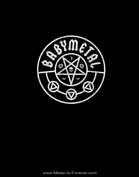 BABYMETAL -ベビーメタル- PENTAGRAM 「ペンタグラム」  Tシャツ