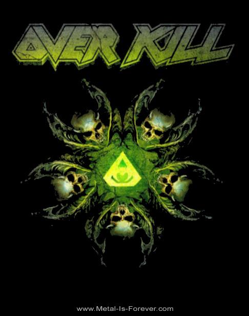OVERKILL (オーヴァーキル) THE WINGS OF WAR 「ザ・ウィングス・オブ・ウォー」 Tシャツ