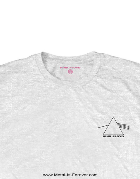 PINK FLOYD (ピンク・フロイド) THE DARK SIDE OF THE MOON 「狂気」 プリズム Tシャツ(白)