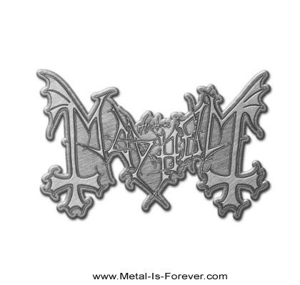 MAYHEM (メイヘム) LOGO 「ロゴ」 ピンバッジ