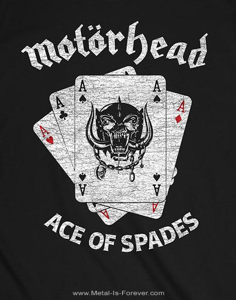 MOTORHEAD (モーターヘッド)  WAR PIG ACES 「ウォーピッグ・エイシズ」 Tシャツ