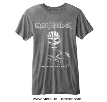 IRON MAIDEN -アイアン・メイデン- THE BOOK OF SOULS「魂の書~ザ・ブック・オブ・ソウルズ~」 バーンアウト Tシャツ(グレー)