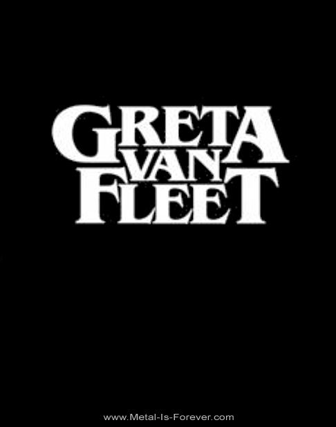 GRETA VAN FLEET -グレタ・ヴァン・フリート- LOGO 「ロゴ」 ジップ・パーカー