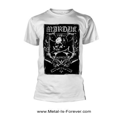 MARDUK (マルドゥク/マーダック) FRONTSCHWEIN 「フロントシュヴァイン」 Tシャツ(白)