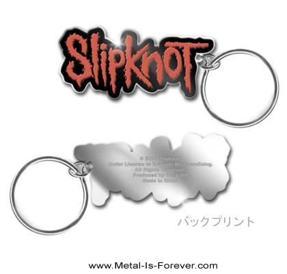 SLIPKNOT (スリップノット) RED LOGO 「レッド・ロゴ」 キーチェーン