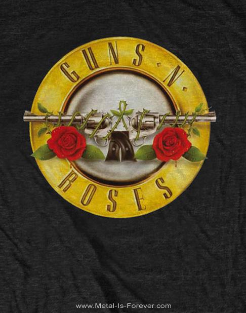 GUNS N' ROSES (ガンズ・アンド・ローゼズ) CLASSIC LOGO 「クラシック・ロゴ」 キッズ Tシャツ