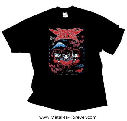 BABYMETAL -ベビーメタル- PIXEL TOKYO 「ピクセル・トーキョー」  Tシャツ